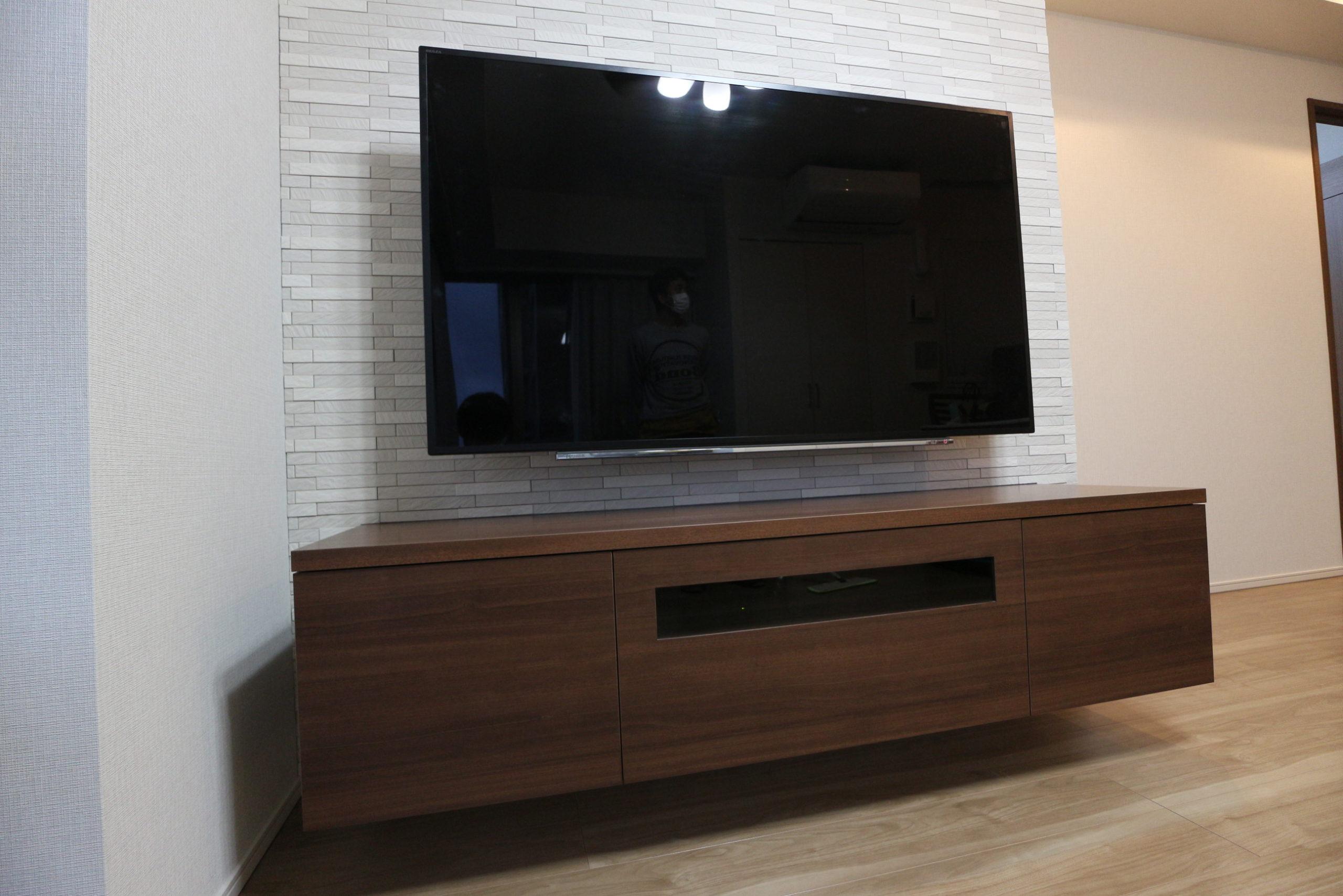 環境に合わせたコンパクト設計のTVボード
